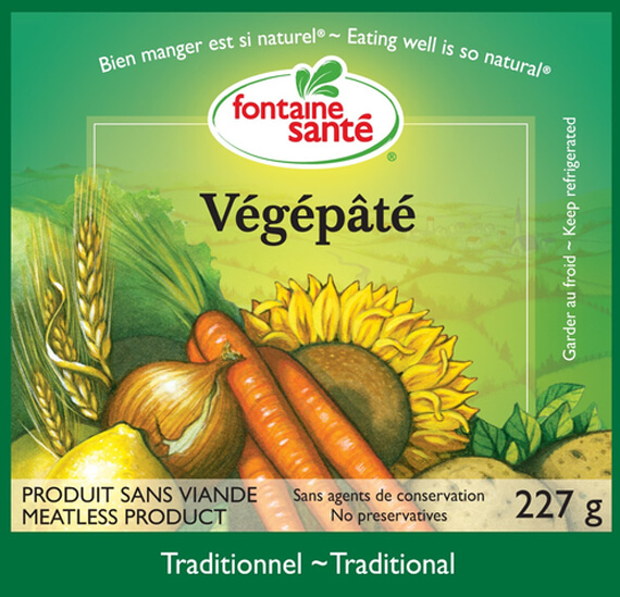 Végépâté traditionnel