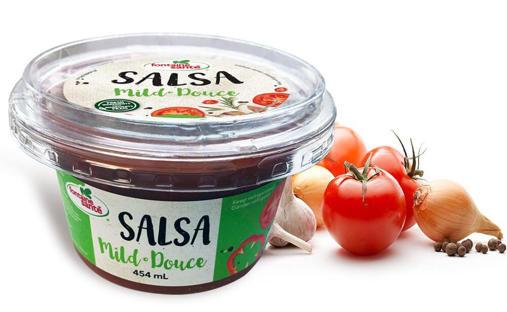 Salsas fraîches