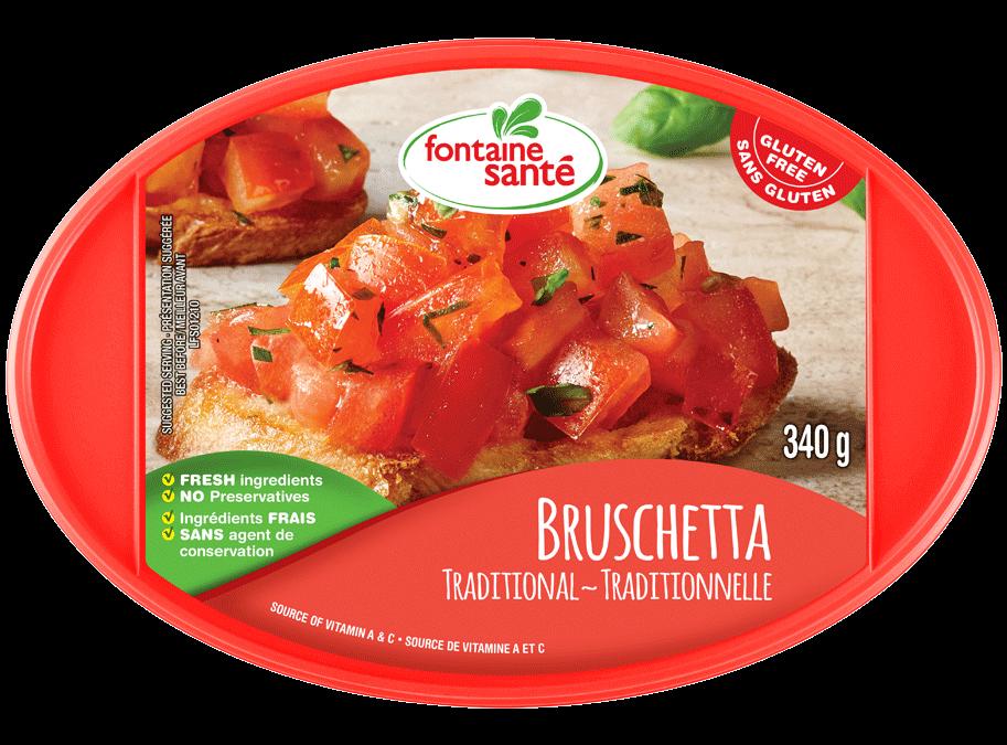 Bruschetta traditionnelle