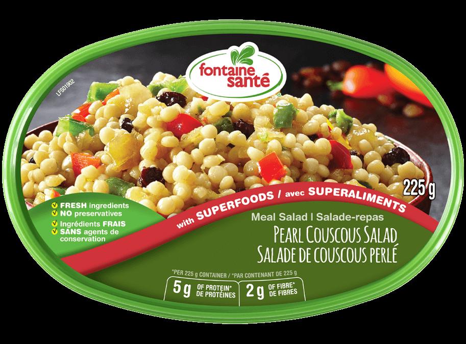 Privé : Salade de couscous perlé