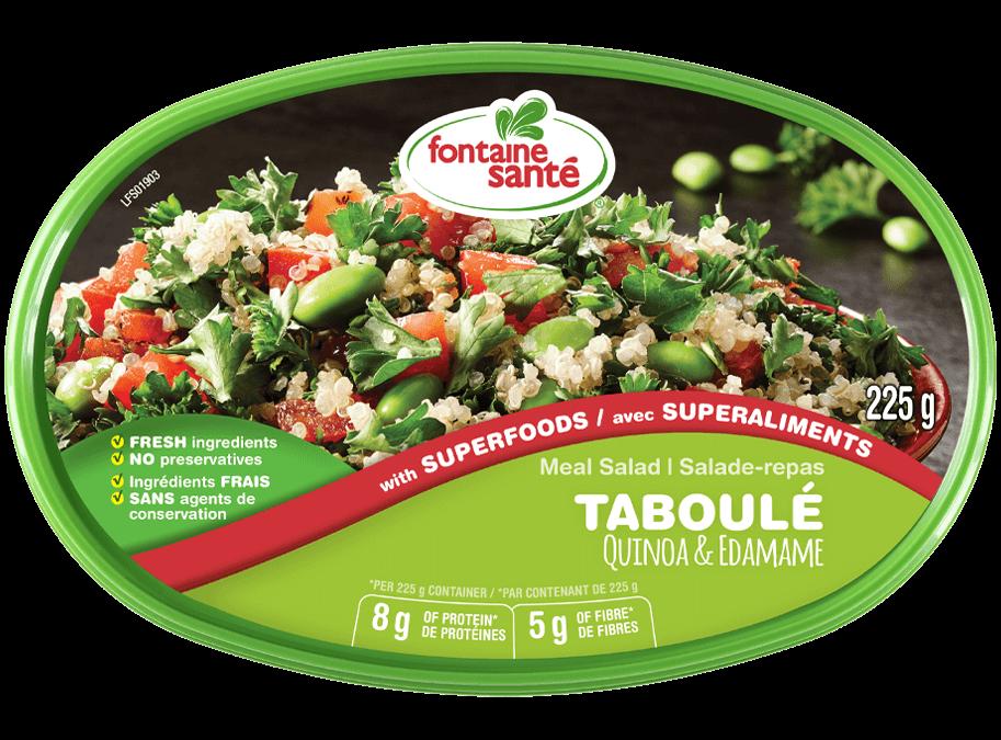 Private: Taboulé quinoa & edamame