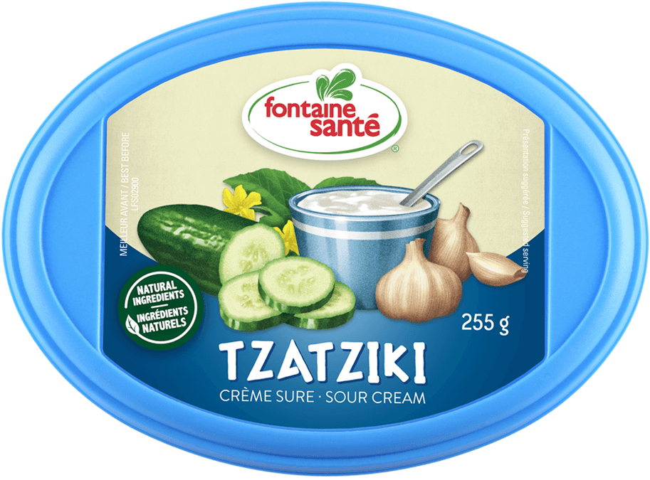 Tzatziki crème sure